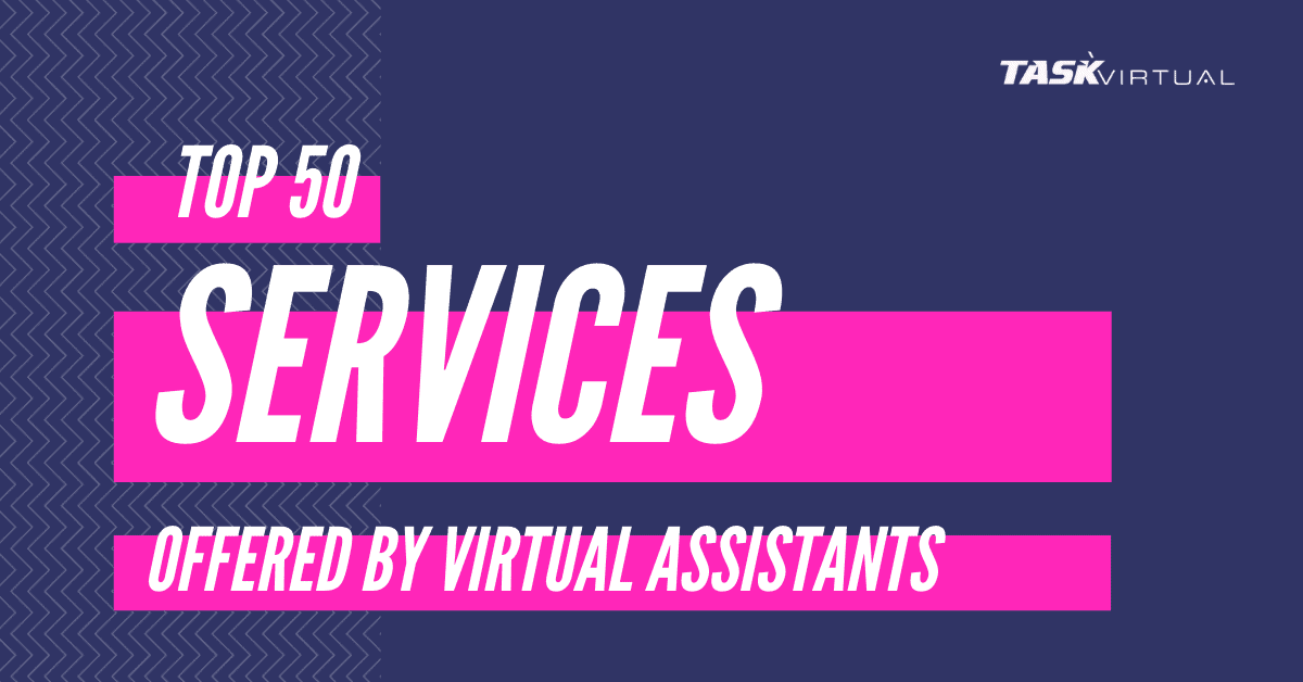 Services-offered by Virtual Assistants