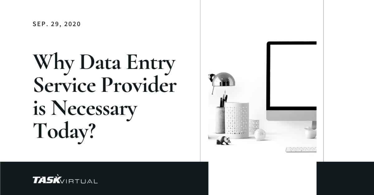 why data entry is important for business