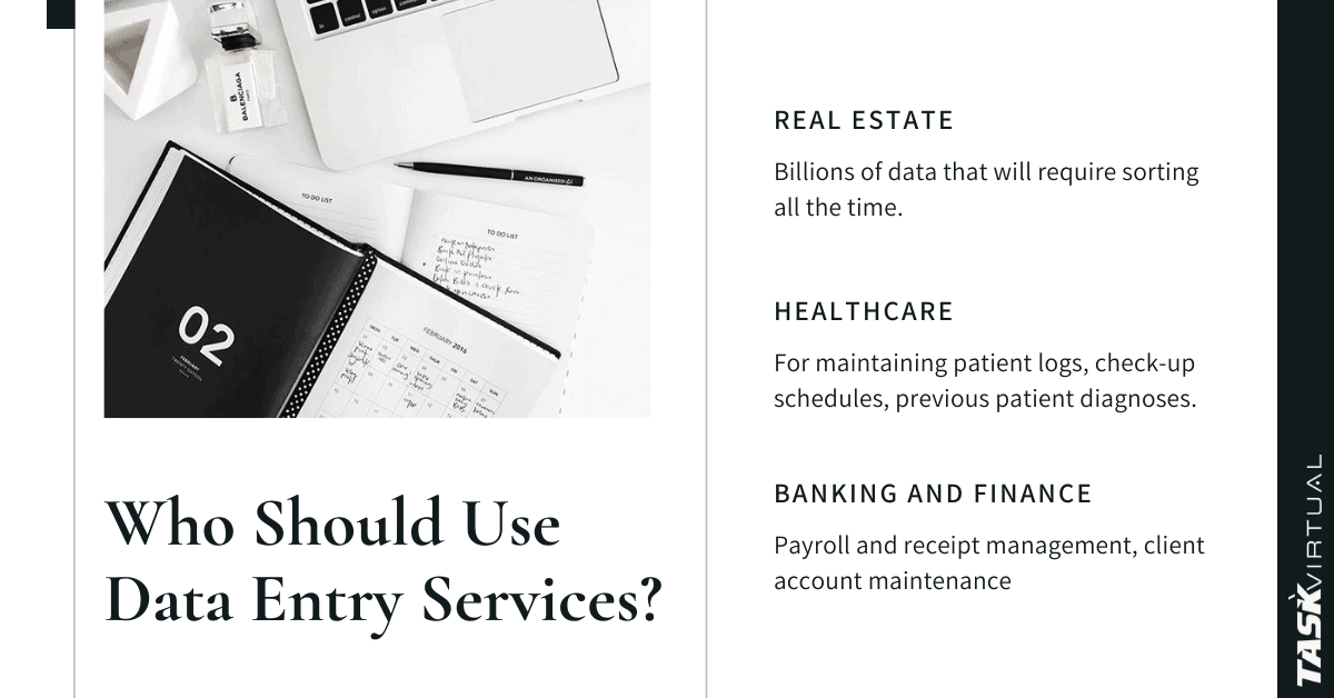 whi uses data enrtry services