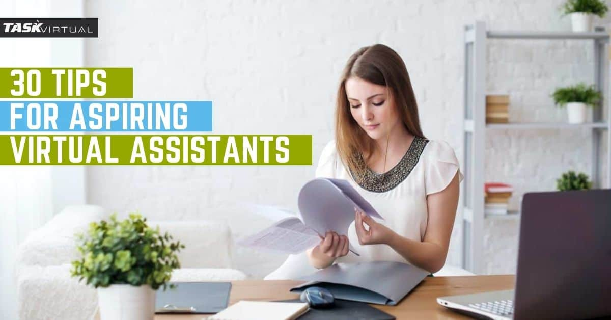 aspiring tips for virtual assistant
