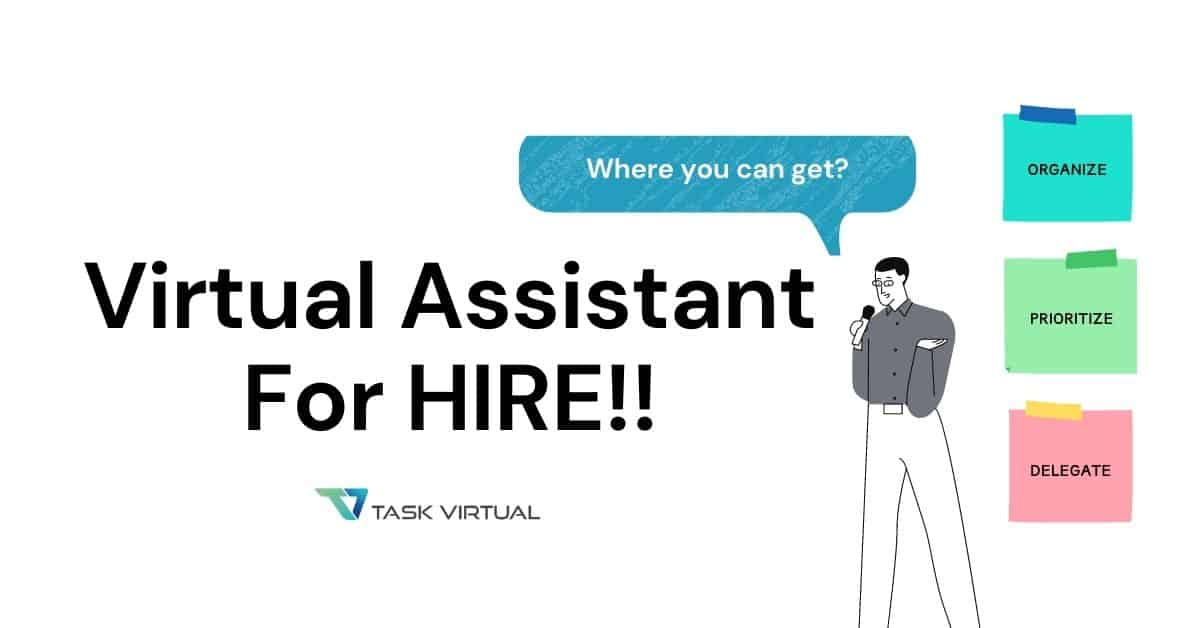 where you can find virtual assistant for hire